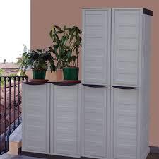 armadietto da balcone mobili da esterno in resina idee creative e innovative sulla