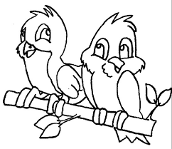 cute couple robin bird coloring cute couple robin bird