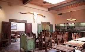 west of pecos a reclaimed wood filled southwestern restaurant