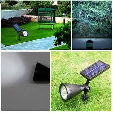 new arrival led solar light outdoor solar power spotlight garden