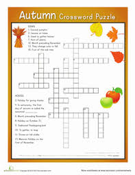 fall word search worksheet education com