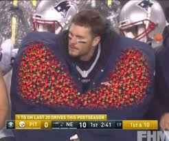 Brady Meme - dopl3r com memes tom brady hiding strawberries in his giant coat