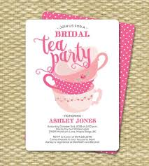 bridal tea party bridal shower invitation tea party invitation bridal shower tea