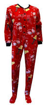 a christmas story red onesie footie pajama these are the jammies