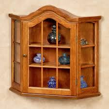 wooden and glass doors curio cabinet wall curio cabinet glass doors wood with lights