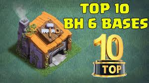 top 10 best builder hall 6 bh6 base designs new coc builder base