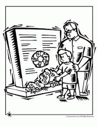 honor your father and mother coloring page veterans day for kids