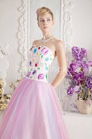 15 quinceanera dresses rainbow colorful sweetheart neckline gown sweet 15