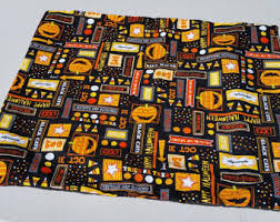 halloween placemats etsy