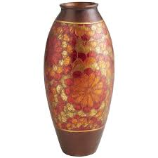 sunset flowers terracotta floor vase pier 1 imports