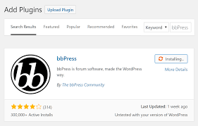 how to use bbpress to add a forum to your wordpress website