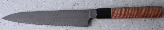 devin thomas feather damascus gyuto chefs knife knives