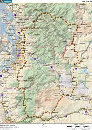 Mount Washington Map by Veloroutes Org Cycling Maps In Pdf And Other Formats