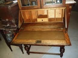antique drop front desk old raggedy ann antiques antique oak english secretary drop front