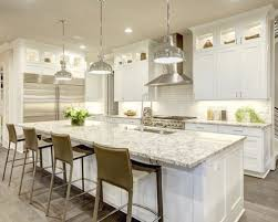 kitchen countertop ideas with white cabinets huge kitchen island awesome white melamine cabinets kitchen ideas s