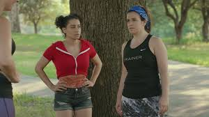 pubic hair at the beach pubes poops periods how broad city takes body humor and