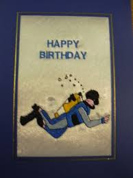 birthday scuba diver