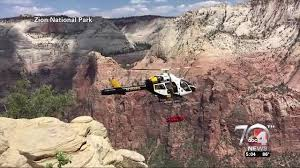 Zion National Park Thanksgiving Parents Of Man Rescued At Zion National Park Share Gratitude