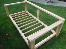 Diy Daybed Frame Build An Outdoor Daybed Gardening Pinterest Outdoor Daybed