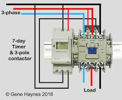 how to wire schneider lc1d contactor