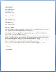 Cover Letter Examples For Resumes by 66 Cover Letter Samples For Customer Service Representative
