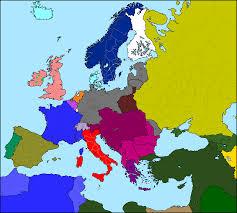 Europe Map Ww1 by Motf 52 Weird World War I Alternate History Discussion