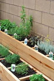 Ideas For Herb Garden Raised Bed Herb Garden Like To Do A Small Patio Garden This May