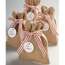 burlap drawstring bags favor bag ideas archives paper source paper source