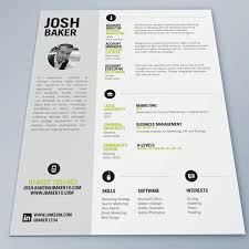 cool free resume templates resume templates best 25 resume format ideas on