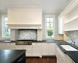 Black Countertop Kitchen by Black Kitchen Island White Marble Countertops Design Ideas