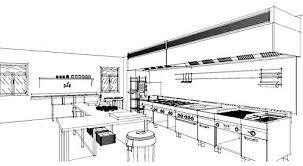 Kitchen Layout Design Ideas Cozy And Chic Commercial Kitchen Layout Design Commercial Kitchen