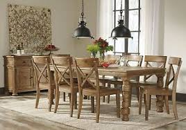ashley furniture trishley rectangular dining room 9 piece set d659