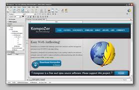 kompozer easy web authoring