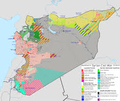 Raqqa Syria Map by 5 8 2016 Syrian Civil War Conflict Map Maps Pinterest Syrian