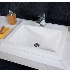Overmount Bathroom Sink Drop In Sinks You U0027ll Love Wayfair