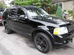 Ford Explorer Black Rims - painted 17
