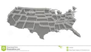 United States Map Outline by United States Arizona Map Outline Stock Photo Image 11106270