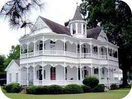 victorian house with wrap around porch round designs