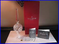 iob waterford crystal 10 5 ornament ball christmas tree topper