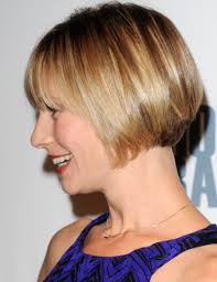 blunt cut bob hairstyle photos side view of chic short bob cut from meredith monroe hairstyles