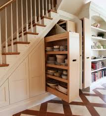 Open Shelves Under Cabinets 12 Storage Ideas For Under Stairs U2013 Design Sponge