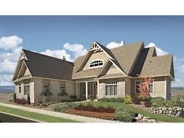 Hillside Walkout Basement House Plans Rustic Hillside Walkout Plan Hwbdo69627 Craftsman From