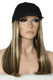chemo hats with hair attached long black wig hat colour 12h wigs online wigs australia