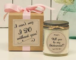 will you be my bridesmaid gift will you be my of honor