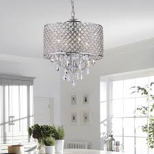 Upside Down Crystal Chandelier Edvivi Marya 4 Light Crystal Chandelier U0026 Reviews Wayfair