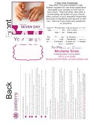 Jamberry Sample Cards You Can Use These To Mail Out Jamberry Nail Sample Wraps To Your