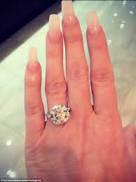 zolciak wedding ring real zolciak shows a new 10 carat ring