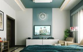 How To Decorate Tall Walls by Accent Wall Color For High Walls With Round Wall Clock Ideas And