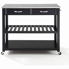 black kitchen island cart marvelous stainless kitchen cart steel utility set id of concept