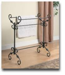 Free Standing Towel Stands For Bathrooms Free Standing Towel Racks Towelracked Com